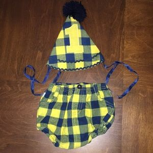 Other - Rugged Butts Buffalo Plaid Smash Cake Outfit